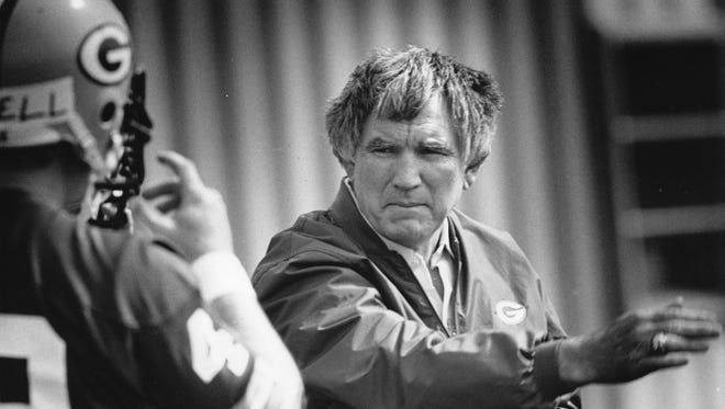 Green Bay Packers Head Coach Forrest Gregg