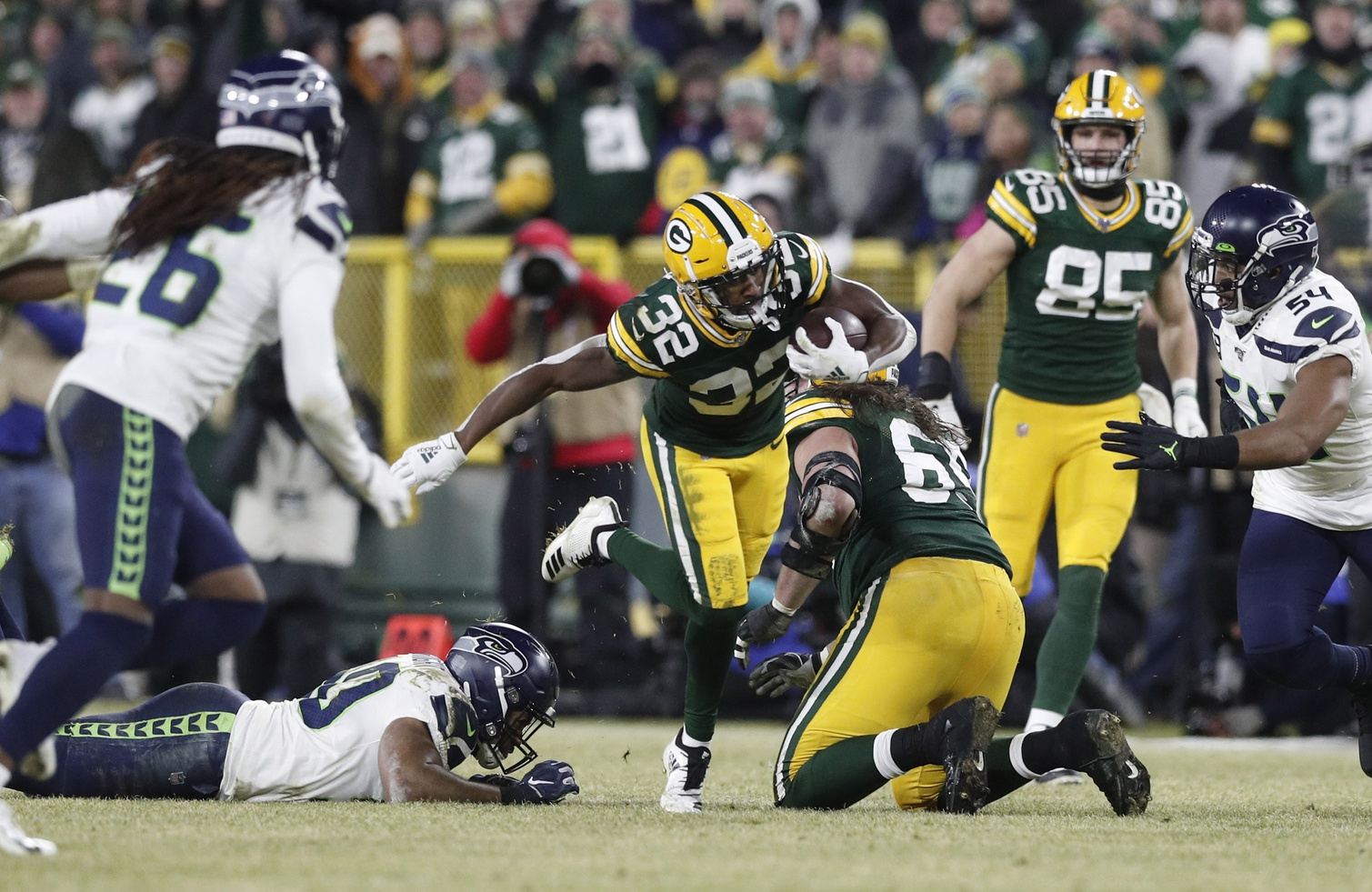 Green Bay Packers and Tyler Ervin