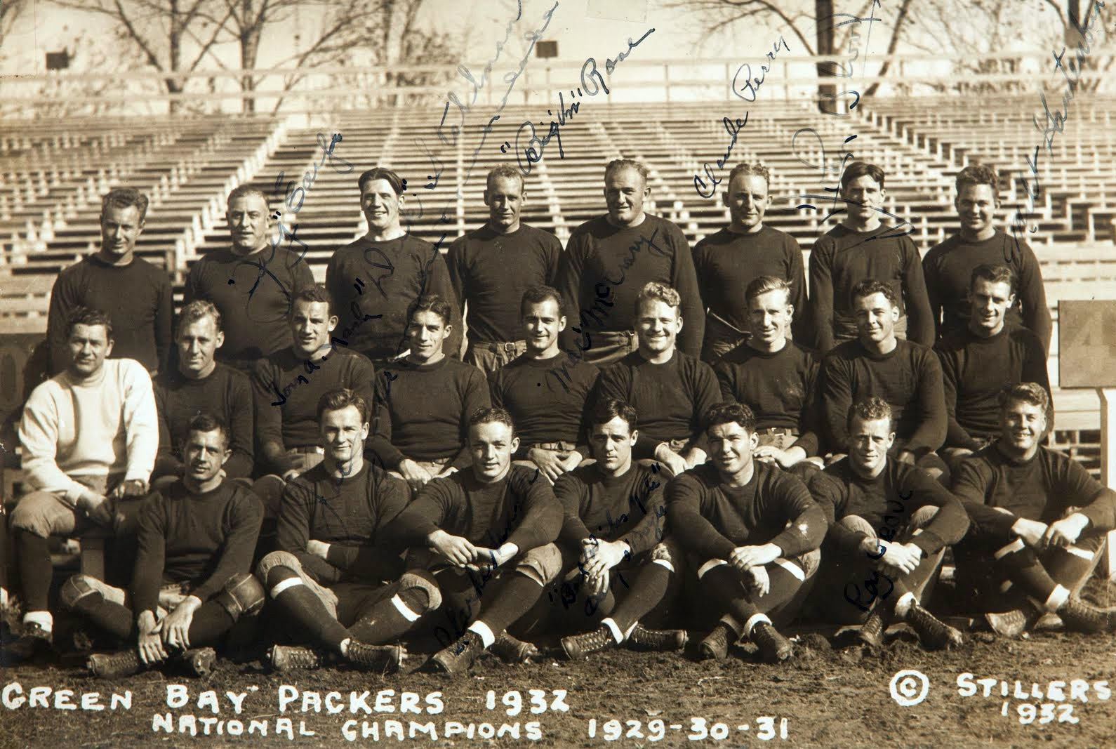 1932 packers team photo