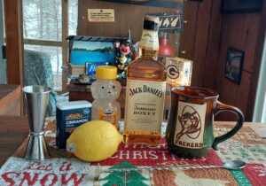 Tennessee toddy cocktail
