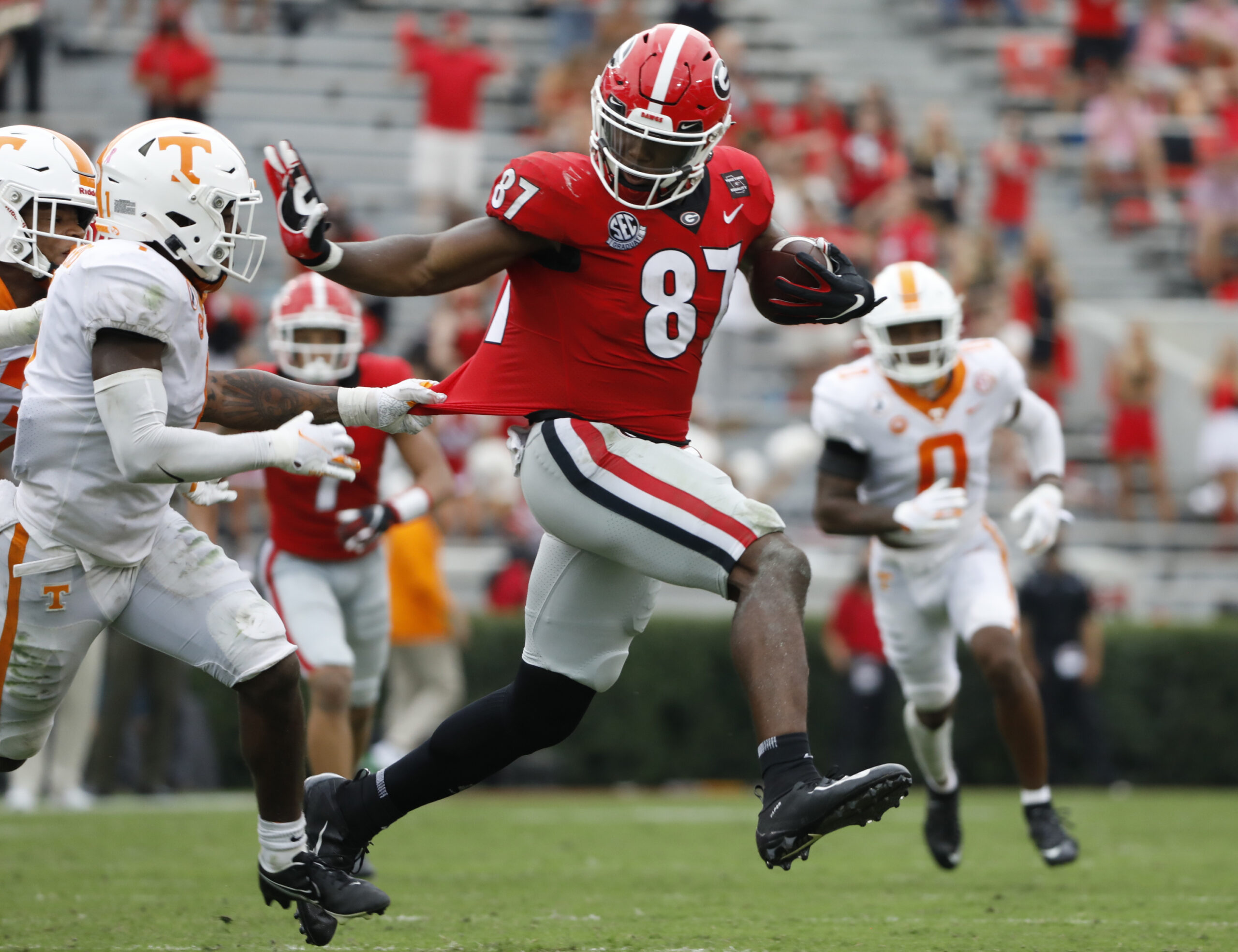 Green Bay Packers: NFL Draft Profile - TE Tre McKitty