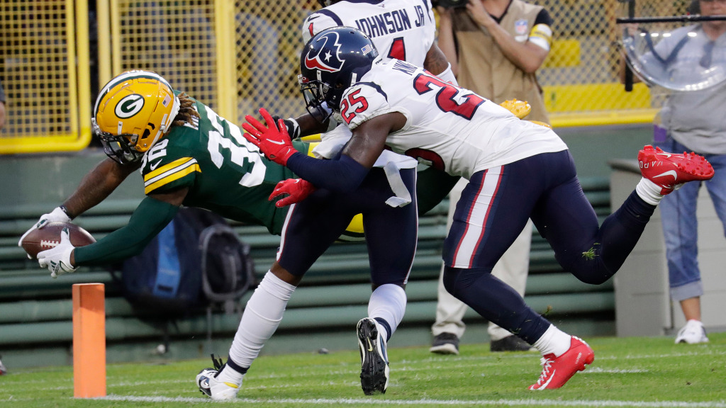 Green Bay Packers RB Kylin Hill