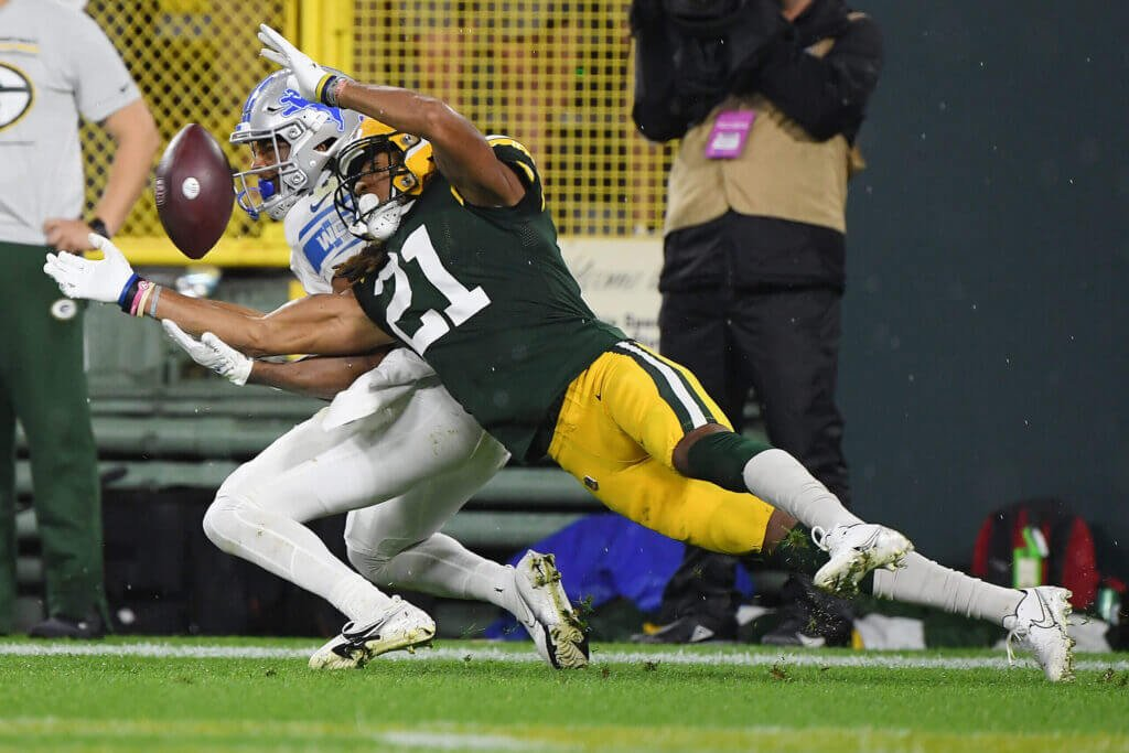 Green Bay Packers eric stokes