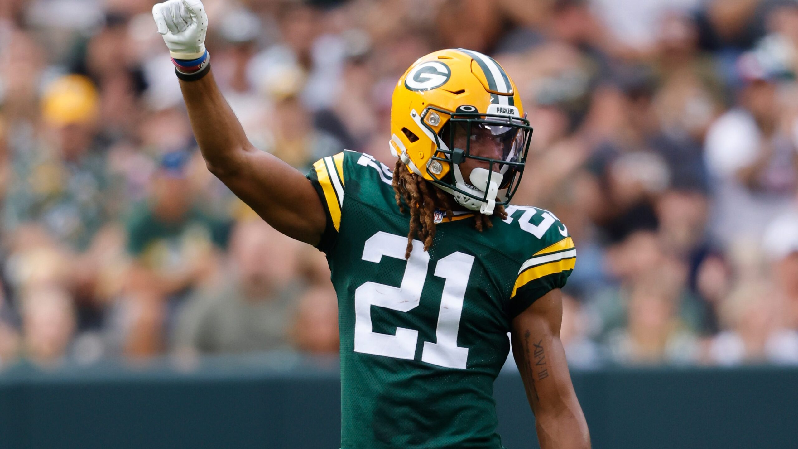 Green Bay Packers CB Eric Stokes
